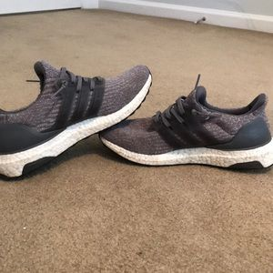 Gray adidas ultraboost
